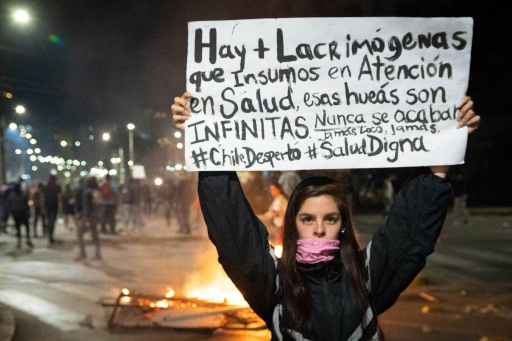 Calle Juan Martínez, escenario permanente de movilización y enfrentamientos